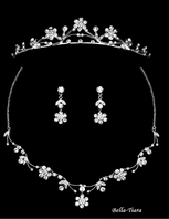 Beautiful Communion Tiara & Necklace Set - SPECIAL