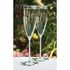 BEAUTIFUL crystal beaded flutes and server set - personalized- SET discount