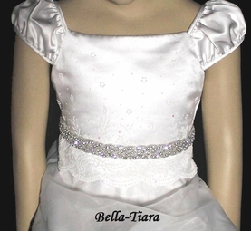 Beautiful Crystal Communion Sash Belt - SALE