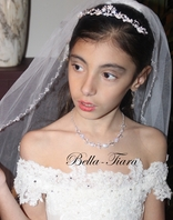 Italian collection - Beautiful rhinestone communion tiara - sale