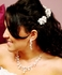 Beautiful Gold Crystal & Pearl Bridal Hair Comb Pins - SPECIAL