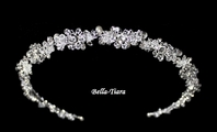 Beautiful swarovski crystal wedding headband - SALE