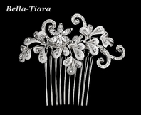 Beautiful vintage romantic wedding hair comb - Sale