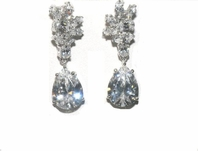 Belle - Royal Collection - Elegant Cubic Zirconia wedding earring - SPECIAL