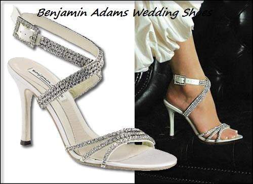 a41f8e0ffe5aa1 Benjamin Adams Astor Bridal crystal evening shoes - Free Shipping - special