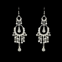 Bliss - Stunning rhinestone drops chandelier earrings - SALE!!