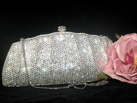 Boutique Couture Swarovski Crystal Purse - SUPER SALE!!! back in stock