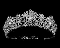 Brook - Beautiful Swarovski crystal wedding tiara