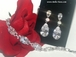 Caressa - Stunning High end CZ earrings and bracelet set -  SALE