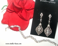 Castle set - Beautiful elegant swarovski crystal jewelry set - SPECIAL