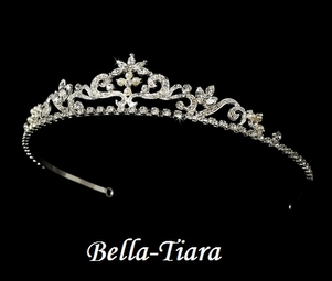 Celia - Beautiful pearl and rhinestone communion tiara - SPECIAL