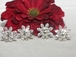 Chiara- Beautiful Bridal Swarovski Crystal Hair Pins - set of 4 - SPECIAL