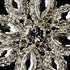 COUTURE Swarovski crystal wedding brooch - SALE
