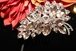 Criana - Glamorous swarovski crystal wedding hair comb - clearance one left