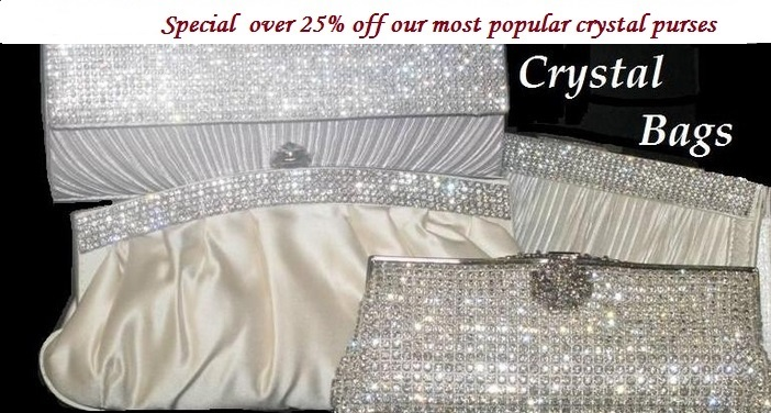 c20f51ba8e Crystal Evening Purses