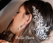 Cylese - Royal Collection - STUNNING!! Swarovski crystal pearl wedding hair vine comb