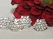 Dazzling Large Clusters Crystal Bridal Hair Pins Accessories - SALE!!