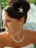 Dazzling Starfish crystal hair pin - CLEARANCE ONE LEFT