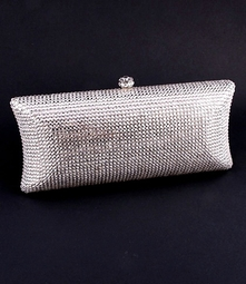 Deena - Couture Elegance Swarovski crystal evening clutch purse - wholesale price
