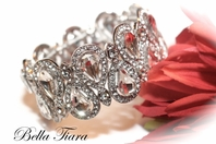 Delia - GORGEOUS Swarovski crystal bridal bracelet  - BACK IN STOCK