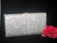 DIAMOND - NEW Gorgeous Swarovski crystal evening purse - SPECIAL