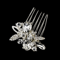 Dolce - Beautiful vintage crystal bridal hair comb - SALE