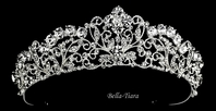 DORIANE - Royal Swarovski crystal wedding tiara - SPECIAL one left