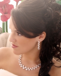 Dove - BOLD and Beautiful CZ Bridal Jewelry Set