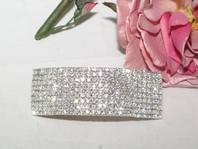 DRAMATIC Elegance rhinestone Hair Barrette - SALE!!