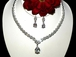 Dreamy-New!! Beautiful Elegant CZ Bridal Necklace Set - SALE!!!