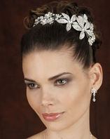 Edward Berger Bridal - Beautiful Crystal Headpiece - SALE!! Amazingly Priced!!