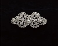 Edward Berger Crystal Hairpiece-8315-SALE