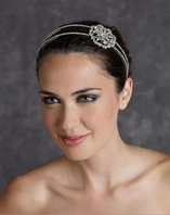 Edward Berger Gorgeous Crystal Headband-8307-SALE