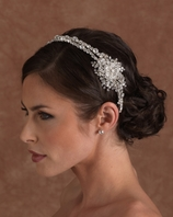 NEW 2014 Edward Berger dramatic swarovski headband - SALE