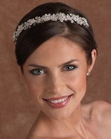 NEW Edward Berger Elegant crystal Headpiece - SALE