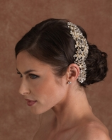 Edward Berger Swarovski cystal wedding Headpiece
