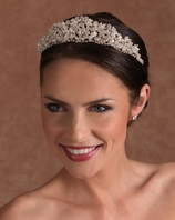 NEW!! Royal Swarovski Edward Berger wedding crystal Tiara -