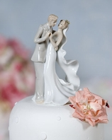 Elegant Porcelain Wedding First Dance Bride and Groom