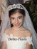 Italian collection - Elegant first communion crystal veil - SPECIAL
