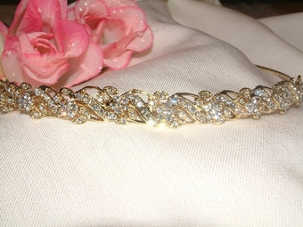 Eleganza-Sparkling Classic Gold Band - SPECIAL