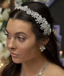 Elle - Luxurious Collection Swarovski crystal headband - SPECIAL