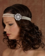 Enchantress Wedding Hairband - Edward Berger 2282 -- SALE