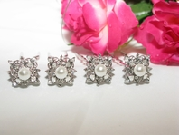 Enza - Victorian Pearl Beauty Wedding Bridal Hair Pins(set of 4)<br><i>Vintage Collection