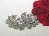 Fantasia - Beautiful Leaf Vine Crystal Barrette - SPECIAL back in stock