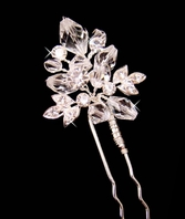 Faye - Dazzling Crystal Hair Pin  - set of 3 - SALE!!
