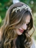 Gina - Beautiful silver or gold vine wedding headpiece