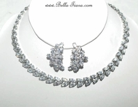 9583c1d8d8642 Bridal Necklace Sets | Wedding | Crystal - Bella-Tiara.com