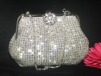 Giuliana -  Vintage Swarovski Crystal purse - CLEARANCE