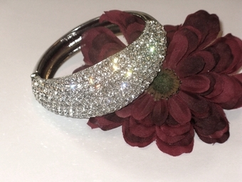 Glamorous Boutique Stunning Crystal Bangle Bracelet - SALE!!