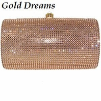 Gold Dreams - Beautiful Gold or silver Swarovski crystal purse - SALE!!!